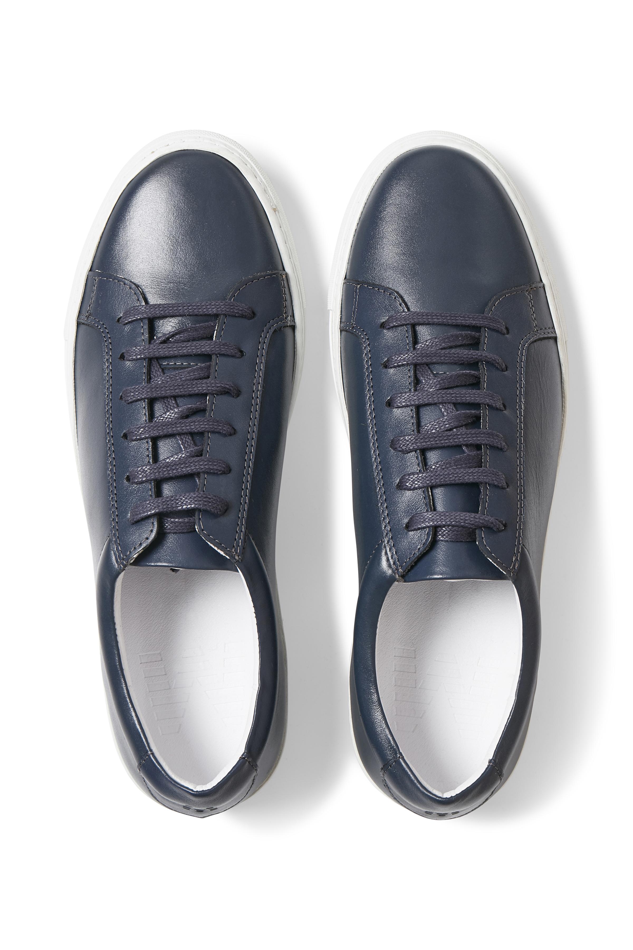 Dark Navy New Gibson Shoe – Køb Dark Navy New Gibson Shoe fra str. 40-46 her