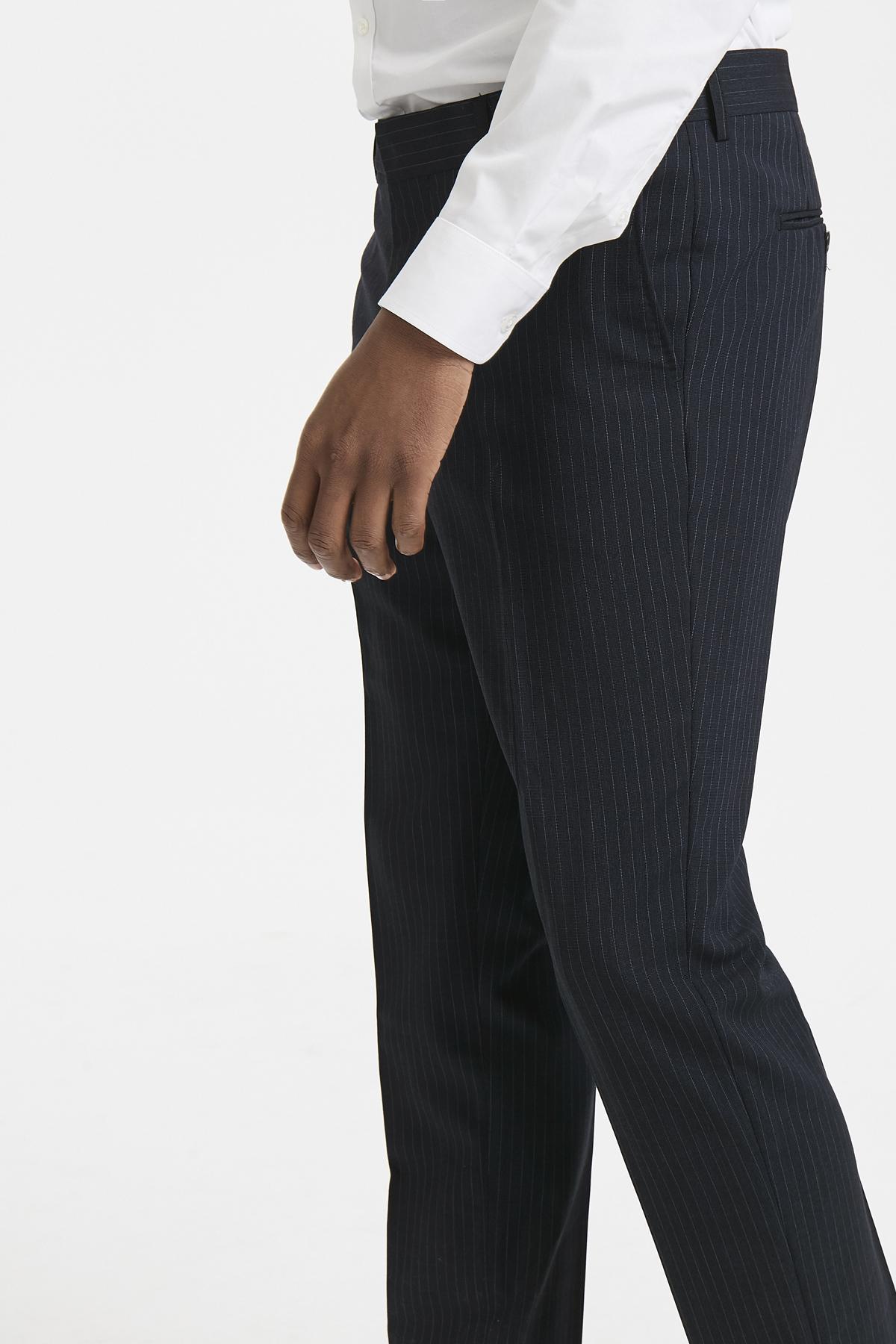 Dark Navy Pants Suiting – Køb Dark Navy Pants Suiting fra str. 44-58 her