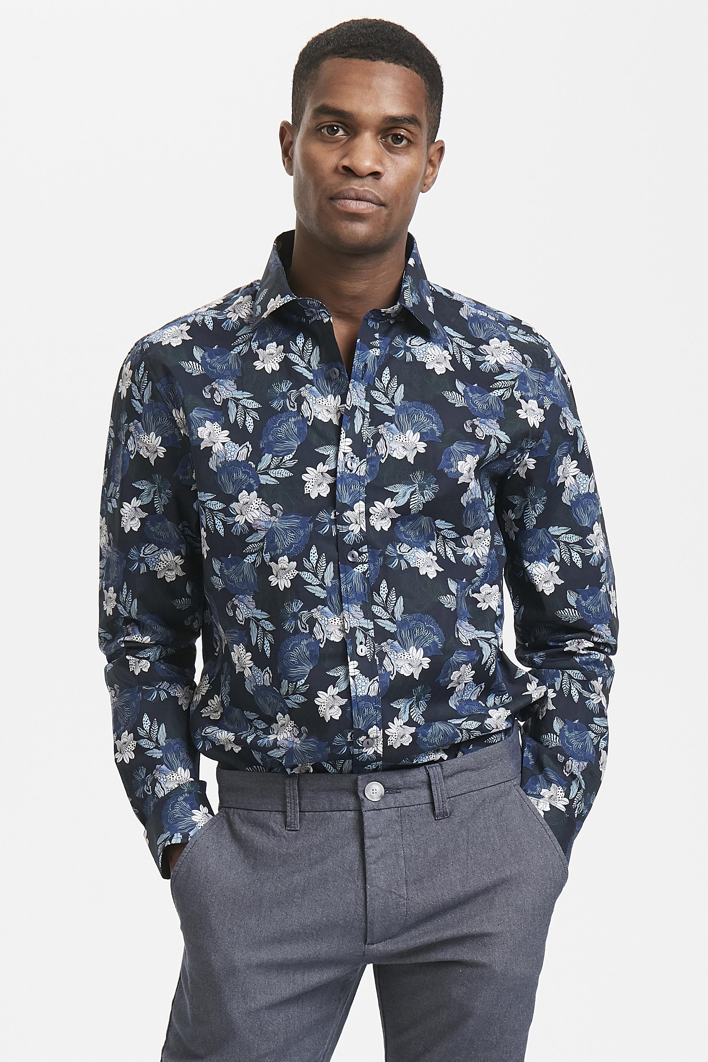 Dark Navy Trostol B1 Shirt – Køb Dark Navy Trostol B1 Shirt fra str. S-XXL her