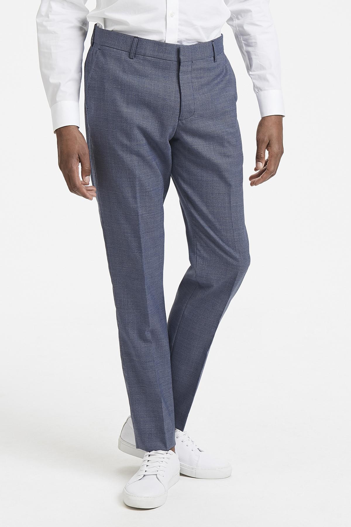 Ink Blue Pants Suiting – Køb Ink Blue Pants Suiting fra str. 44-58 her