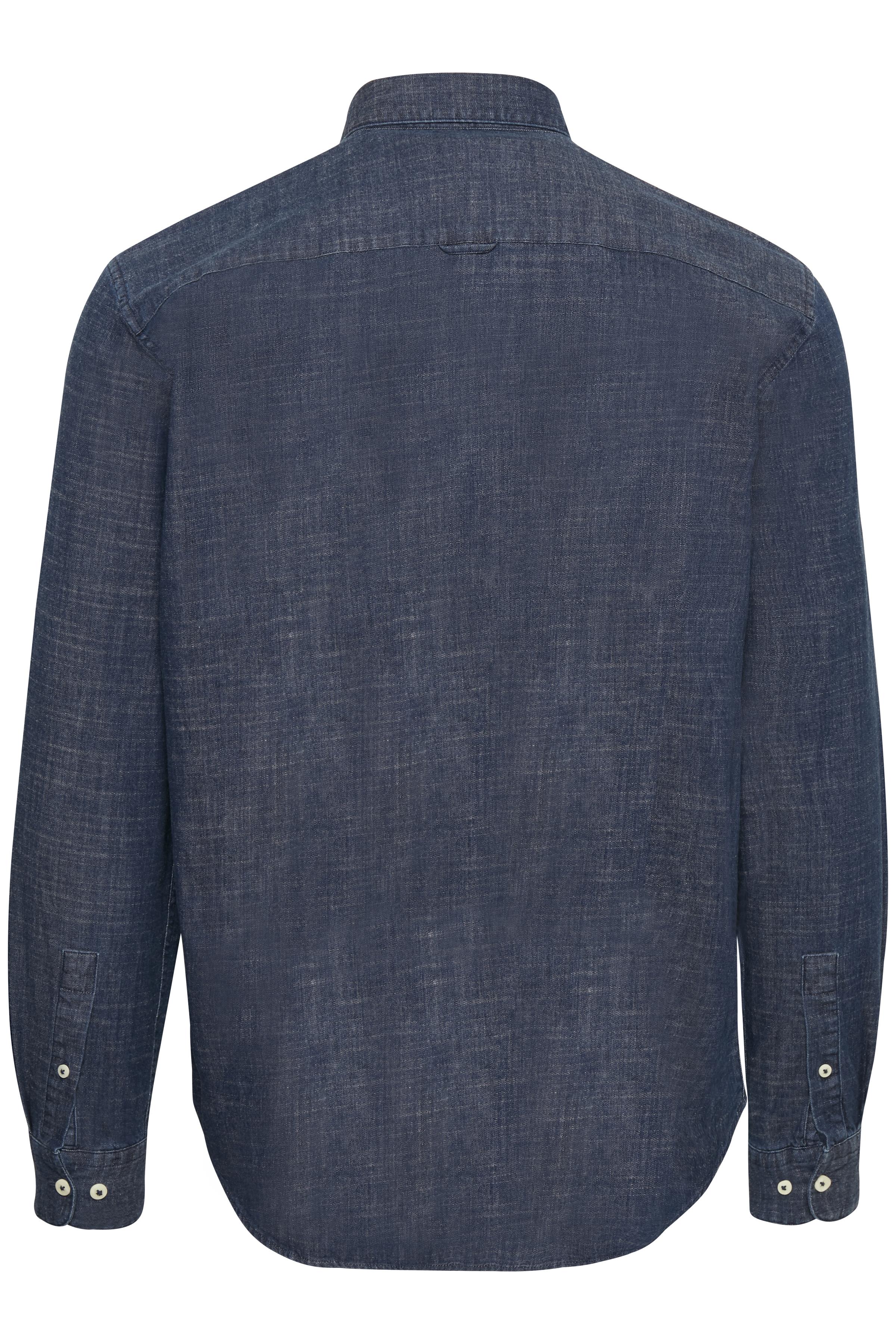 Medium Denim Trostol BD Shirt – Køb Medium Denim Trostol BD Shirt fra str. XS-XXL her