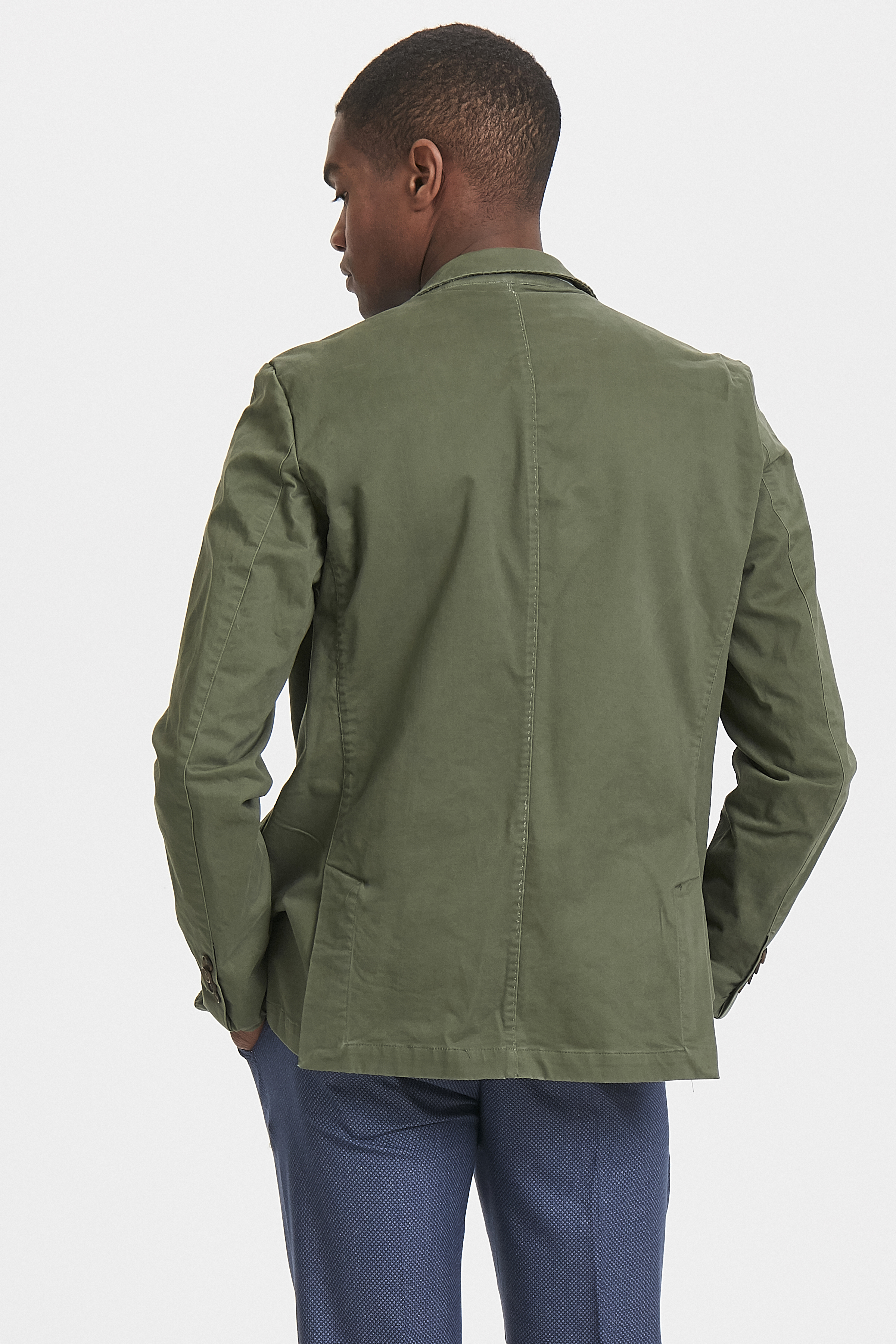 Washed Army George Casual Blazer – Køb Washed Army George Casual Blazer fra str. 46-58 her